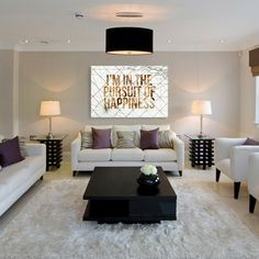 The perfect living room, besides probably the painting, l would probably change that