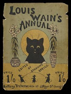 Louis Wain, Louis Wain's Annual; Cats and dogs with illustrations by Louis Wain