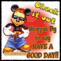 GOODMORNING MICKEY MOUSE | good_day_mickey_mouse_pimp.gif image by bugsbunny42