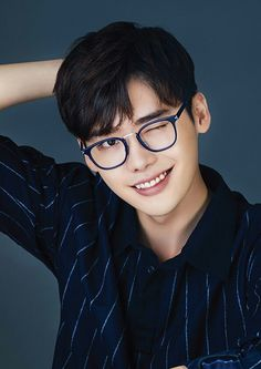Lee Jong Suk in glasses️ can find Lee jong suk and more on our website.Lee Jong Suk in glasse. Lee Jong Suk Cute, Lee Jung Suk, Lee Joon, Asian Actors, Korean Actors, Korean Dramas, Lee Jong Suk Wallpaper, F4 Boys Over Flowers, Kang Chul