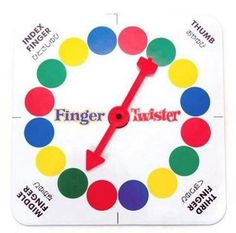 Finger Twister Game - INFMETRY