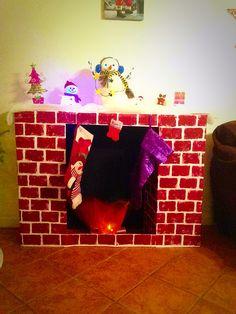 Creative Ideas - DIY Cardboard Decorative Fireplace ...