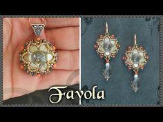 Tutorial modulo * FAVOLA * per Anello Orecchini Ciondolo - Incastonatura rivoli con Tile DIY - YouTube
