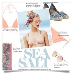 """Sea Salt"" by mila-me ❤ liked on Polyvore featuring STELLA McCARTNEY, For Art's Sake, Valentino, Beach Riot and Etro"