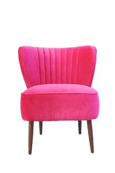 Everybody deserves a pink chair :)    (Moe's Home Chiva Club Chair)