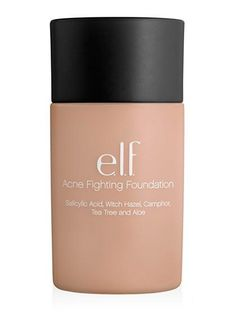 Acne Fighting Foundation Spiked with salicylic acid, witch hazel, tea tree oil, and aloe, this drugstore foundation gently treats zits without Tea Tree Oil Uses, Tea Tree Oil For Acne, Best Foundation For Acne, Drugstore Foundation, Foundation Tips, Powder Foundation, Hydrogen Peroxide Skin, Huile Tea Tree, Oils For Dandruff