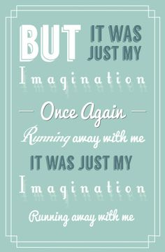 Just My Imagination ~ The Temptations