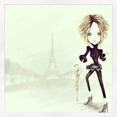 En París ...
