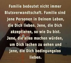 Verwandte vs Familie