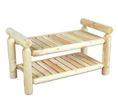 Cedarlooks 0200028 Log Quilt Bench Cedarlooks http://www.amazon.com/dp/B00171OQJ2/ref=cm_sw_r_pi_dp_vMFRtb10A98CZ67G