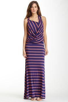 Sleeveless Cowl Neck Maxi Dress by Fraiche By J on @HauteLook