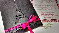 Dolce Vitta Convites: Modelos Paris cód. 227 - Aniversário de 15 anos