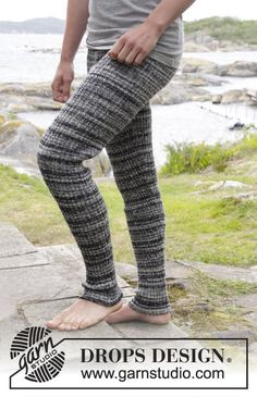 DROPS Extra - Free knitting patterns and crochet patterns by DROPS Design Crochet Pants Pattern, Pants Pattern Free, Crochet Socks, Knitting Socks, Crochet Clothes, Free Pattern, Knitting Patterns Free, Knit Patterns, Free Knitting