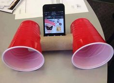 Holy cow!! For those times tailgating when you forget speakers and don't wanna…
