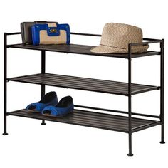 Threshold�?� 3 Tier Stackable Shelf - Copper