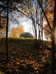 Dome house in Latvia, Jaunpiebalga. Dome Society.