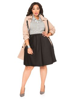 The Curvy Fashionista | Plus Size Suiting and Wear to Work Options with Ashley Stewart: Corporate CUtie