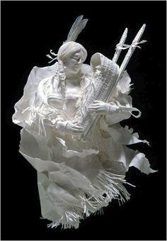 A Mother's Pride ~ Allen & Patty Eckman (paper sculpture)
