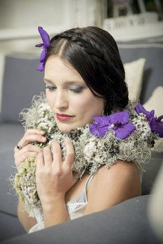 bridal look. A perfect bride.   Photo: Efrat Lobel http://www.facebook.com/efratlobel Make Up: Gali Griffel  https://www.facebook.com/gali.griffel.makeup?ref=br_tf Hair: Silviya Tobol https://www.facebook.com/pages/Silviya-hairstyling/183176768540573 Flowers: https://www.facebook.com/shozrot