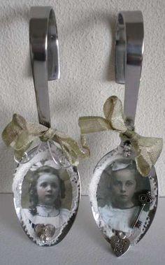 Vintage Spoons at scrapbook.com