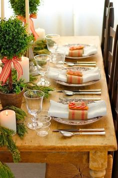 Time for Fashion » Deco Inspiration: Christmas Table