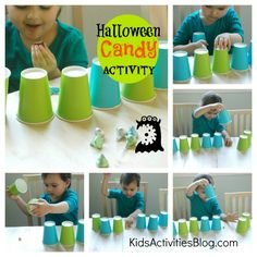 A game for the kids to play with all the leftover halloween candy