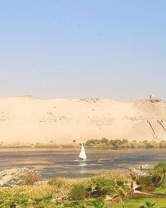 Enquanto você se diverte no Carnaval vou aos poucos descobrindo as maravilhas do Egito este país rico em história e cultura!  Encantada com a vista bucólica da minha varanda que contrasta o deserto com o rio Nilo. E hoje vai ter navegação. Quem vem comigo?  Roteiro show organizado pela @horusviagens #Egypt #visitegypt #egito #rionilo #nileriver #movenpickhotels #horusviagens #youmustgoblog