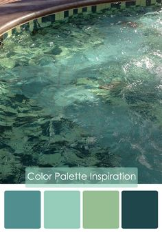 belle maison: Color Palette: Watery Blues. These colors?