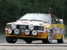 Audi quattro Group B Rally Car (Typ 85) '1983–85