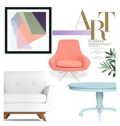 """""""Pastel Home"""" by pattykake ❤ liked on Polyvore featuring interior, interiors, interior design, home, home decor, interior decorating, Amanti Art, Dot & Bo and Softline"""