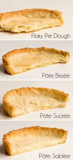 create a better pie by personalizing the style of pie or tart crust you use, sweet, savory, flaky or cookie like