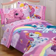 My Little Pony Kaylah Bedroom, Sheu0027s Crazy About Them
