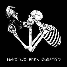 Browse all designs on Beebosloth – available on a range of custom products Skeleton Drawings, Skeleton Art, Art Drawings, Spooky Scary, Creepy, Art Triste, Skull Wallpaper, Sad Art, Vintage Glam