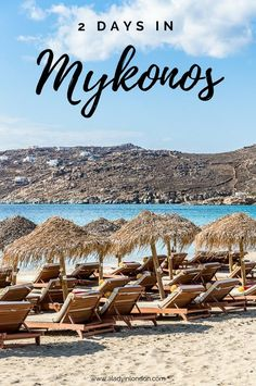 How to spend 2 perfect days on the Greek island of Mykonos  #greece #mykonos #cyclades #island #europe #travel