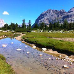 Dalla Capanna Alpina a Malga Fanes