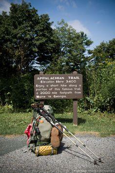Augie Buchheit, Shenandoah Park Ridge Runner along the trails in Shenandoah National Park