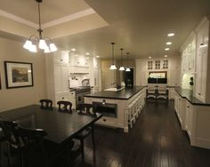 Kitchen Honed Granite Black Design, Pictures, Remodel, Decor and Ideas - page 2