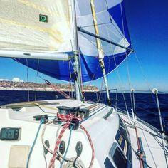 Regata en solitario. Sa Ràpita-Illa des Sec-Sa Ràpita 42 Mn. #sailboat #sailor #navegantes #navegando #navegar #vela #regata #regatas #yachtlife #yachtworld #sailing #sailinglife by joansalvalara