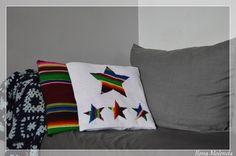 poduszka, gwiazda, kilim