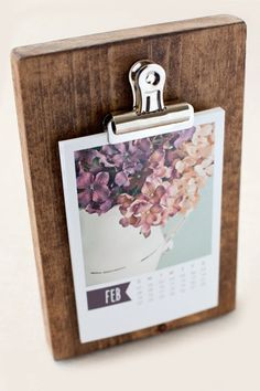 Kalender mit selbst designten Blättern aus selbst geschossenen Fotos (super Verwendung für Instagram-Fotos!)