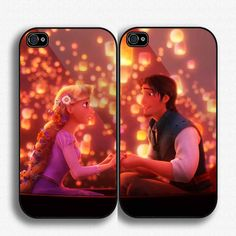 Case iphone 4 and 5 for Disney Tangled Love. Okay this is cute...