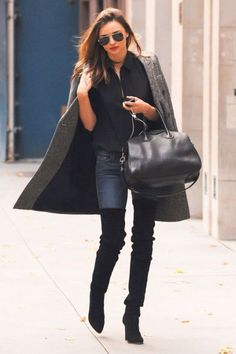 How to rock over the knee boots – Just Trendy Girls