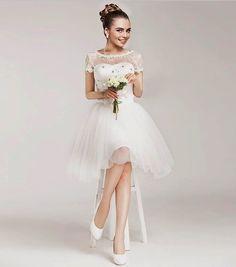 Тематические свадьбы   Короткие свадебные платья   5 Фото идеи   Страница 3