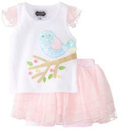 Mud Pie Baby Girls' Little Chick Tutu Skirt Set, Pink/White, 12 18 Months Mud Pie http://www.amazon.com/dp/B00HUGM1O0/ref=cm_sw_r_pi_dp_ntsjwb1G7ZRS0