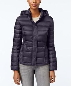 43ac1743 32 Degrees Packable Hooded Puffer Coat, Created for Macy's & Reviews - Coats  - Women - Macy's