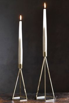Buy Set of 4 Metallic Ombre Taper Candles from the Next UK online shop Gold Candles, Taper Candles, Teal And Gold, Dark Teal, Next Uk, Candlesticks, Candle Holders, Uk Online, Stuff To Buy