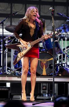 Grace Potter performs at The Peach Music Festival at The Toyota Pavilion at Montage Mountain in Scranton on August 16.