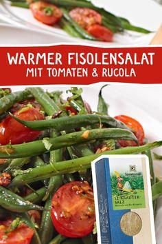 """Fisolen, sind übrigens """"Grüne Bohnen"""" in Österreich! :) Schnell zubereitet und sehr gesund! Das 12 Kräuter Salz rundet diese Komposition wunderbar ab. #fisolen #grünebohnen #warmersalat #kräutersalz #salatkräuter #salatgewürz #lecker #rezept #kochen #küche Pms, Green Beans, Turkey, Vegetables, Dressings, Food, Fitness, Salads, Complete Nutrition"""