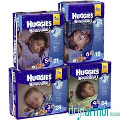 Kimberly Clark - 40683 - Baby Diaper Huggies® Overnite Tab Closure Size 4 Disposable Heavy Absorbency