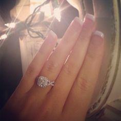My gorgeous Vera Wang ring ❤️